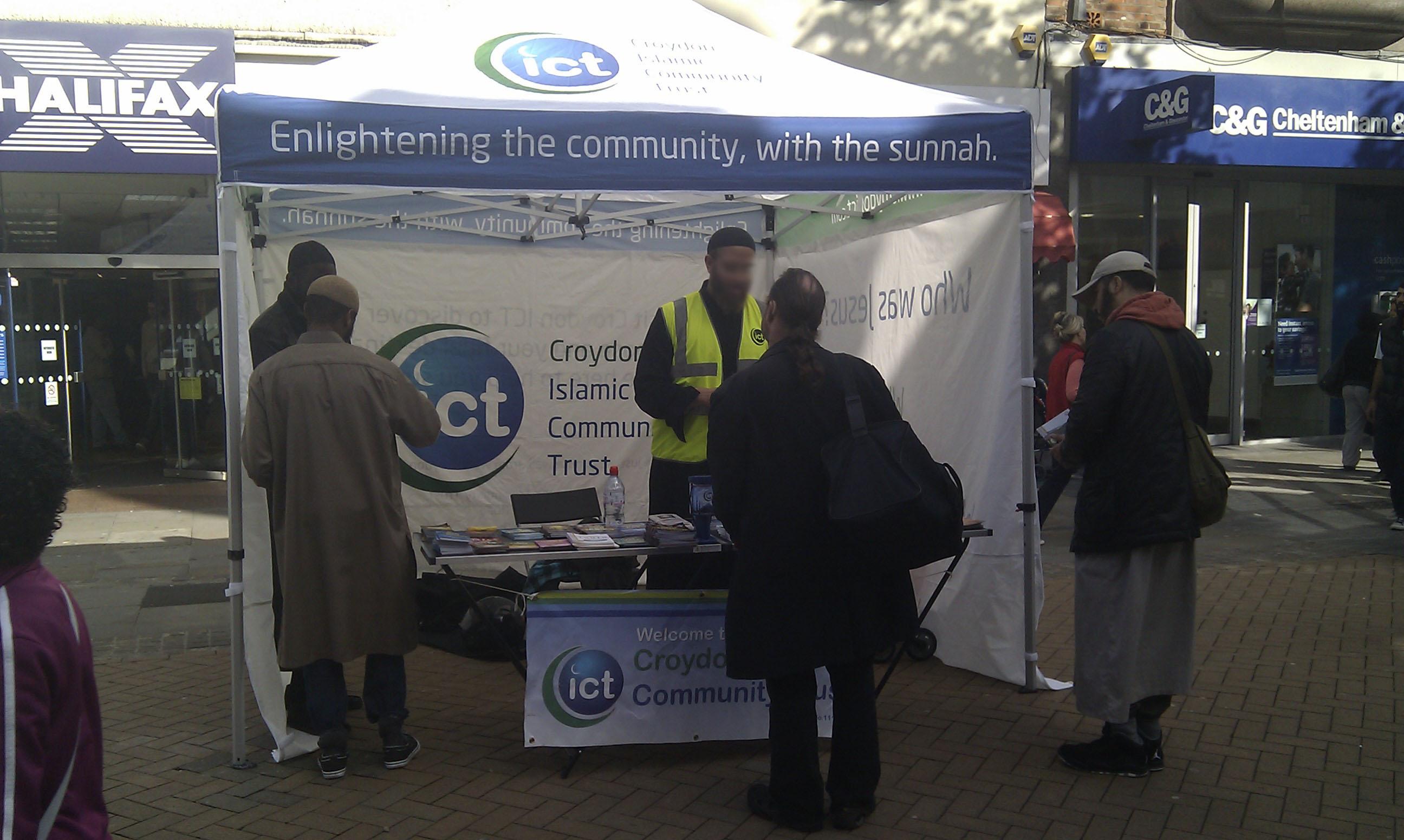 Croydon ICT Dawah Programme - Gazebo Pics 5