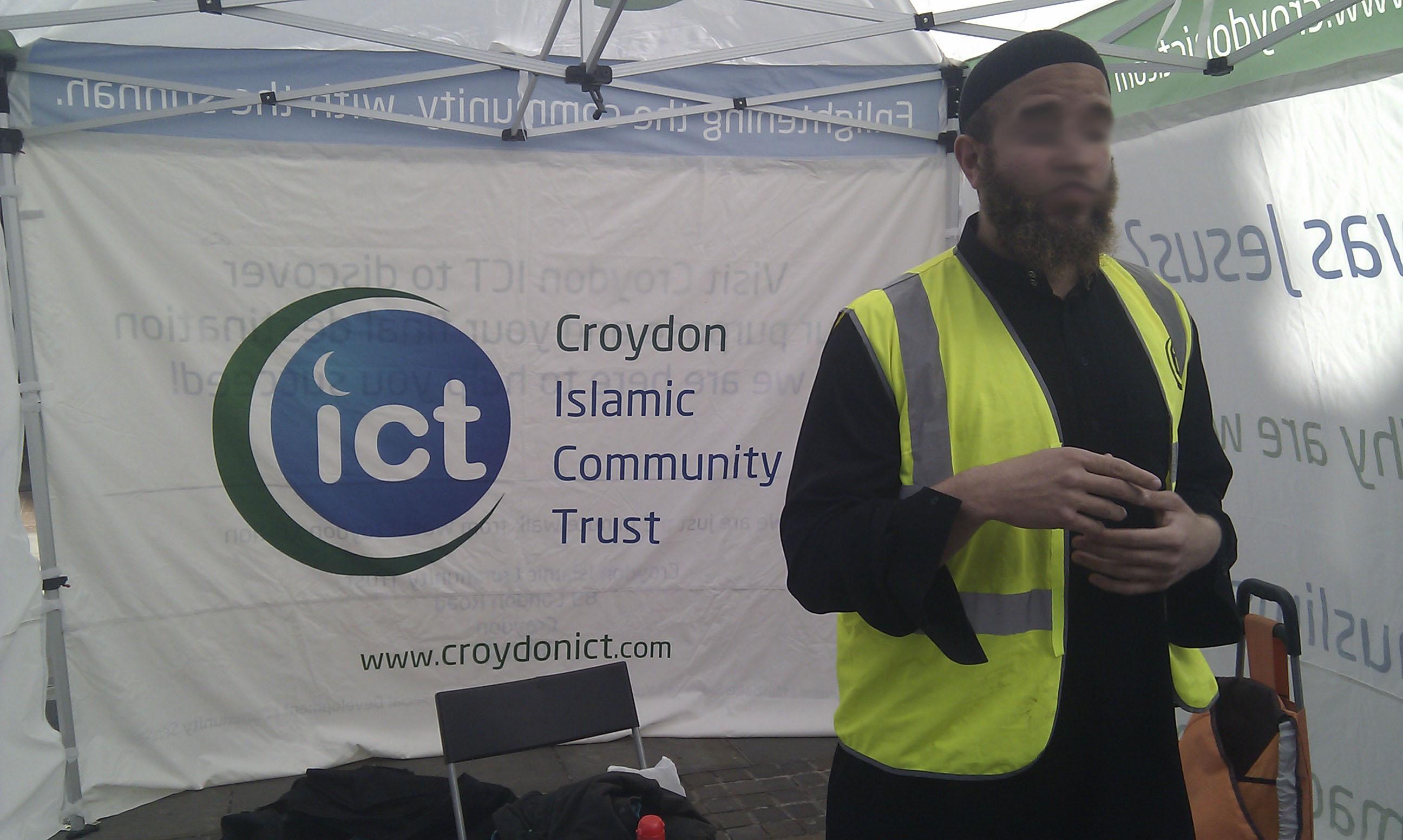 Croydon ICT Dawah Programme - Gazebo Pics 1