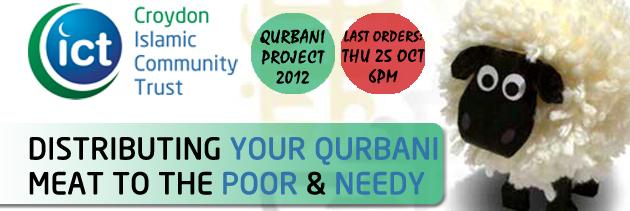Qurbani 2012 - Delivered by Croydon ICT