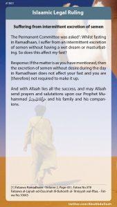 Ramadhan Fatwa 10