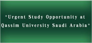 Study-oportunity-Qasim-university