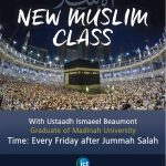 New Muslim class